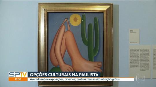 Últimos dias da exposição 'Tarsila Popular' no Masp agita a Avenida Paulista