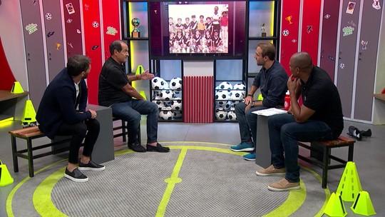 """Boleiragem recebe Muricy, Pedrinho e Donizete, que revela de onde saiu o apelido de """"Pantera"""""""