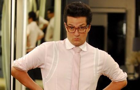 Marcelo Serrado interpretou Crô, o mordomo e fiel escudeiro de Tereza Cristina TV Globo