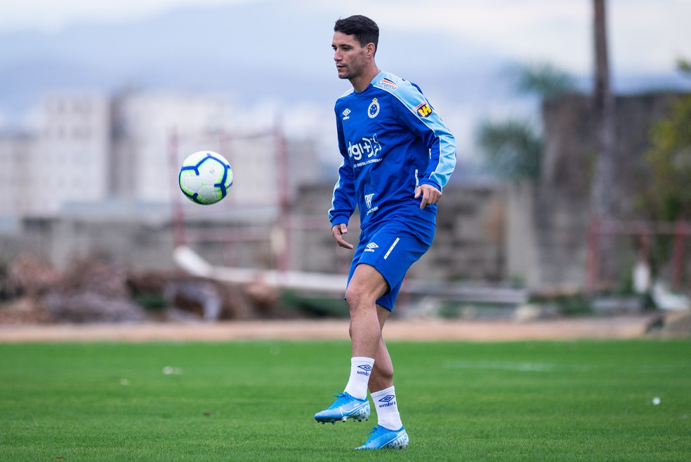 Thiago Neves pede tranquilidade ao Cruzeiro diante do Avaí — Foto: Bruno Haddad/Cruzeiro