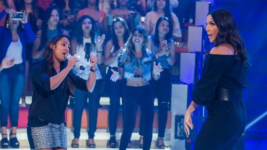 Ivete Sangalo surpreende fã no 'Essa Música É Minha' no 'Caldeirão'