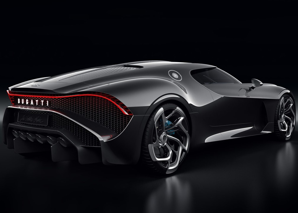 Bugatti La Voiture Noire — Foto: Divulgação/Bugatti