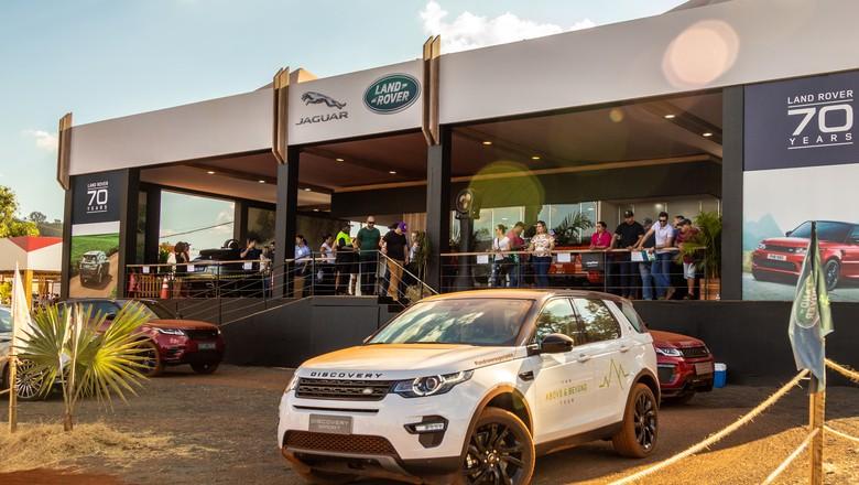 jaguar-land-rover-carro-premium-stand-expointer (Foto: Divulgação)