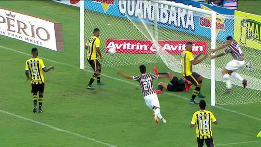 Fluminense empata com o Volta Redonda na estreia do Carioca