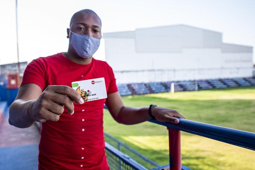 Clube do Fla distribui vale-alimentação para atletas de clubes das séries B1 e B2 do RJ