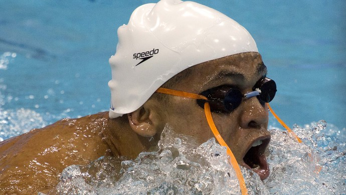 Adriano Lima, nadador potiguar (Foto: Fernando Maia/CPB)