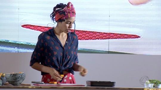 Culinarista Bela Gil mostra cardápio saudável com alimentos de MS