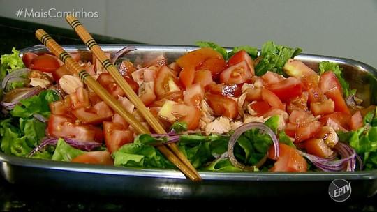 'Segredos da Cozinha': salada de salmão é a receita de sábado (05)