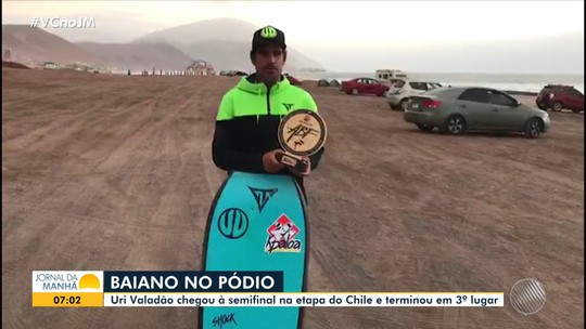 Baiano chega à semifinal de Campeonato Mundial de Bodyboard
