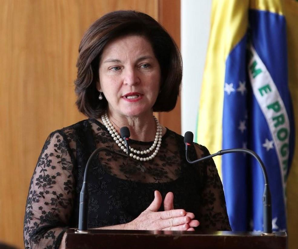 A procuradora-geral da República, Raquel Dodge — Foto: Fabio Rodrigues Pozzebom/Agência Brasil