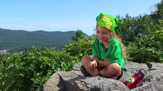 Menina de quatro anos bate recorde de escalada de montanhas nos EUA
