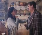 Cena em que Lola (Gloria Pires) mente para Júlio (Antonio Calloni) sobre a situação da família | Globo/Raquel Cunha