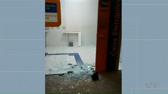Bandidos explodem agência bancária em Bituruna