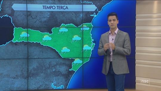 Terça-feira deve ser de sol com nuvens e calor em Santa Catarina