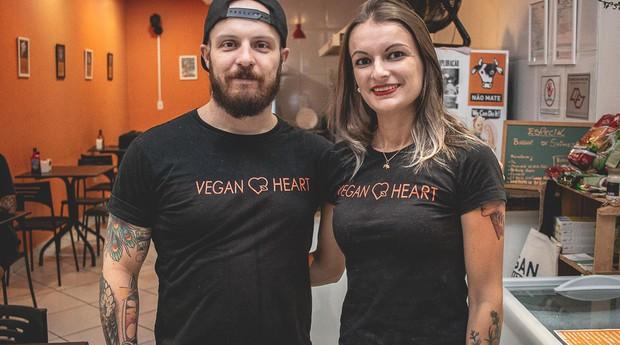 Vegan Heart, hamburgueria vegana localizada em Votorantim (SP) (Foto: Divulgação)