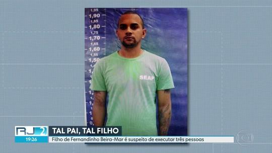 Filho de Fernandinho Beira-mar é suspeito de matar três pessoas
