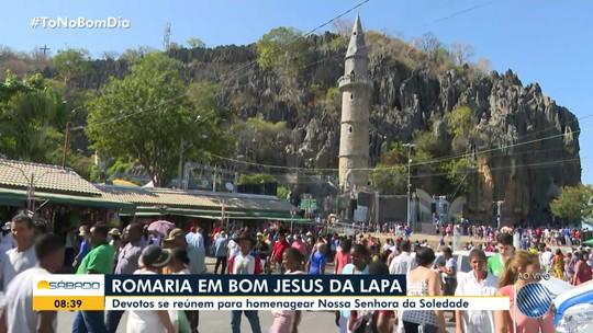 Celebrações a Nossa Senhora da Soledade reúne milhares de devotos para romaria em Bom Jesus da Lapa