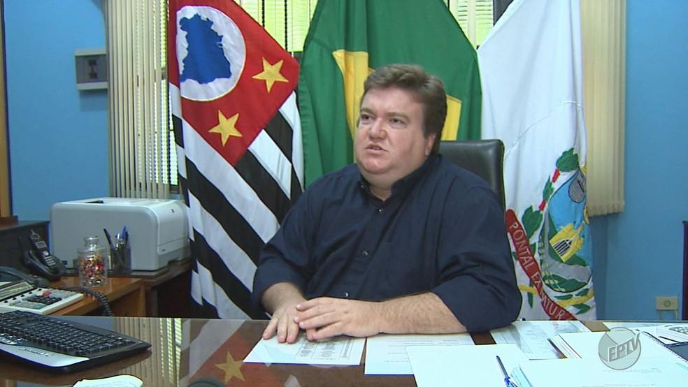 O ex-prefeito de Pontal Antônio Venturelli Junior (Foto: Reprodução/EPTV)
