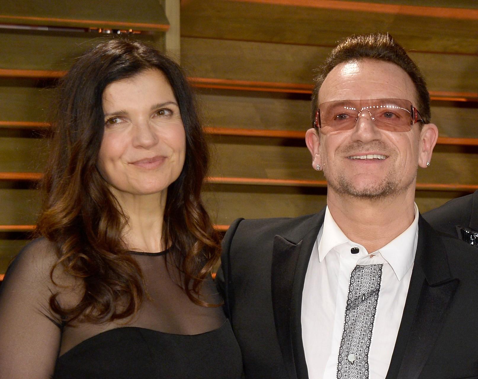 Bono e Ali Stewart (Foto: Getty Images)