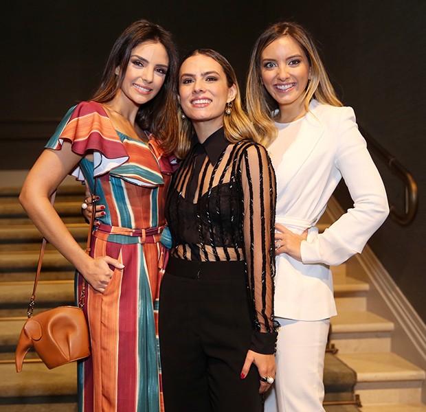 Carol Celico, Patricia Bonaldi e Lelê Saddi (Foto: Manuela Scarpa/Brazil News)