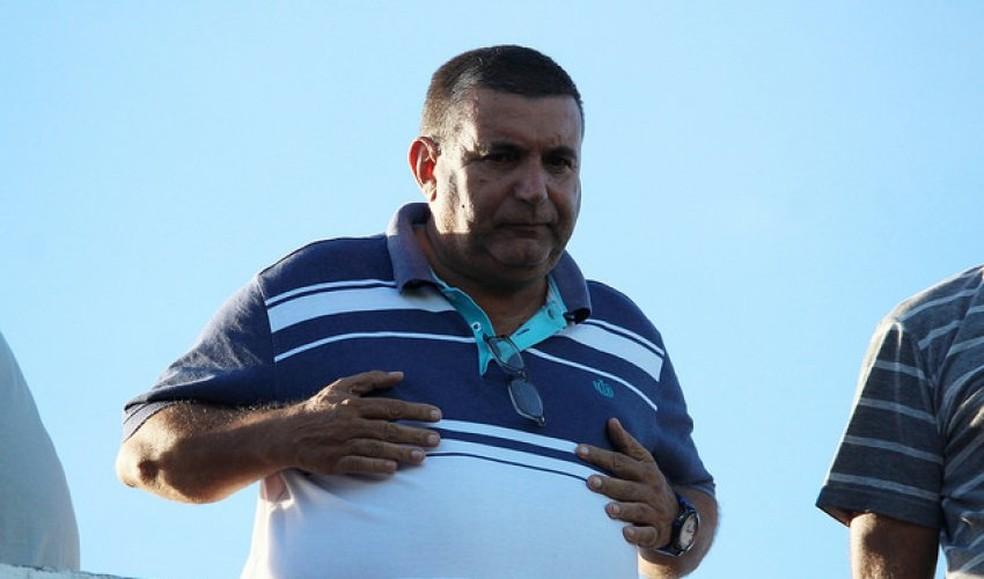Dartagnan Fernandes, presidente do Goytacaz — Foto: Vitor Costa / Futrio.net