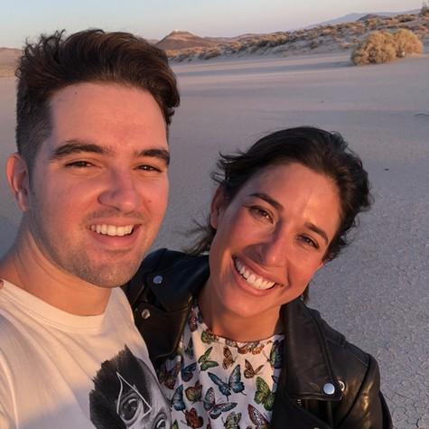 Eduardo Albuquerque e Giselle Itié  (Foto: Arquivo pessoal)