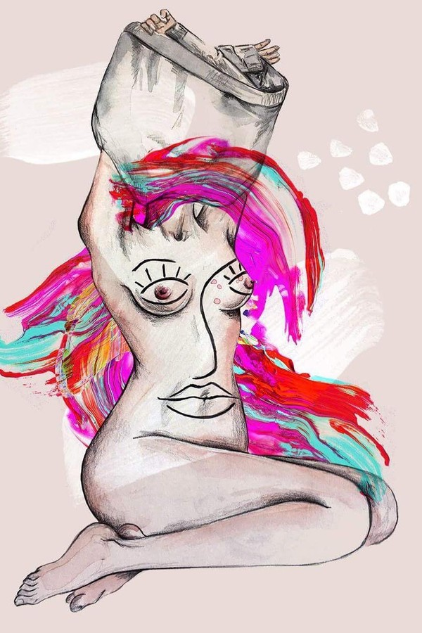 Ilustração de Camila Gray (Foto: Reprodução)