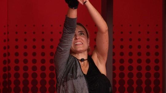 Paula é a última deixar a Prova do Líder Coca-Cola com Café Espresso