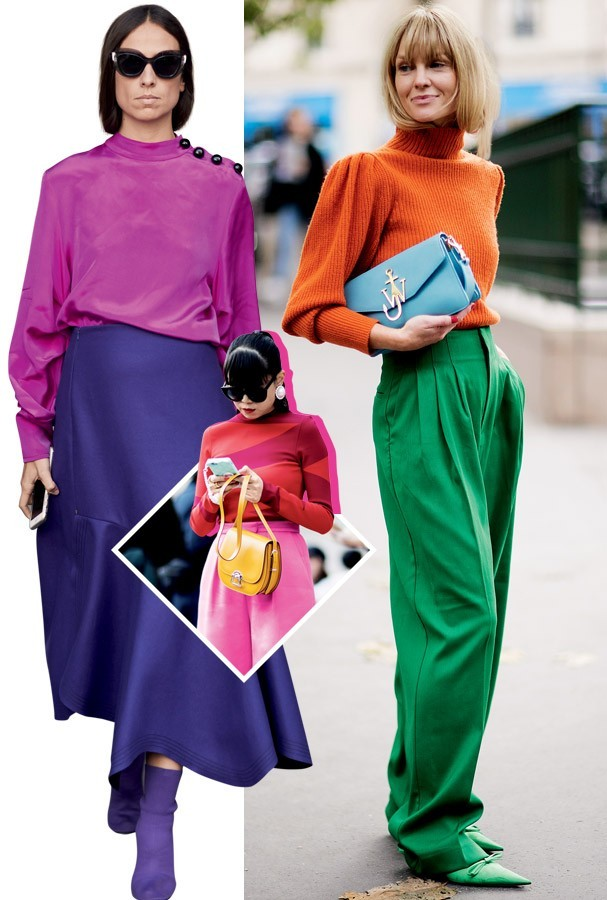 Color blocking (Foto: Imaxtree)