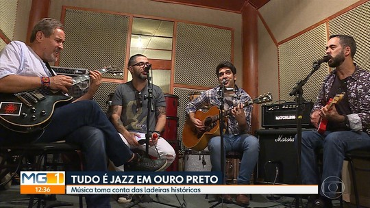 Festival 'Tudo é jazz' leva o ritmo para as ladeiras de Ouro Preto