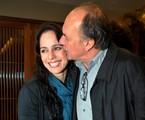 Claudia Mauro e Paulo César Grande   Cristina Granato