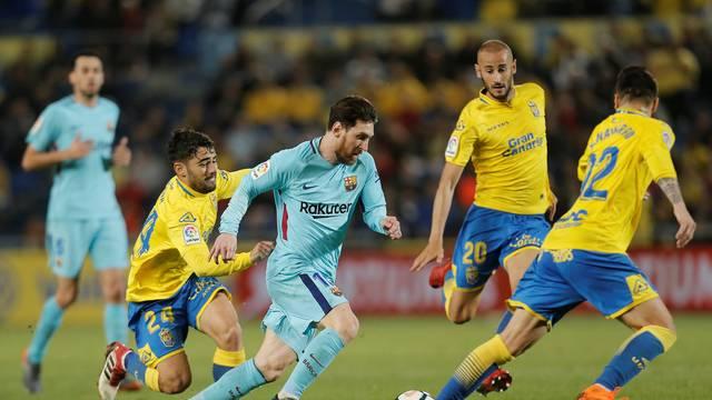 Messi deu trabalho à zaga do Las Palmas