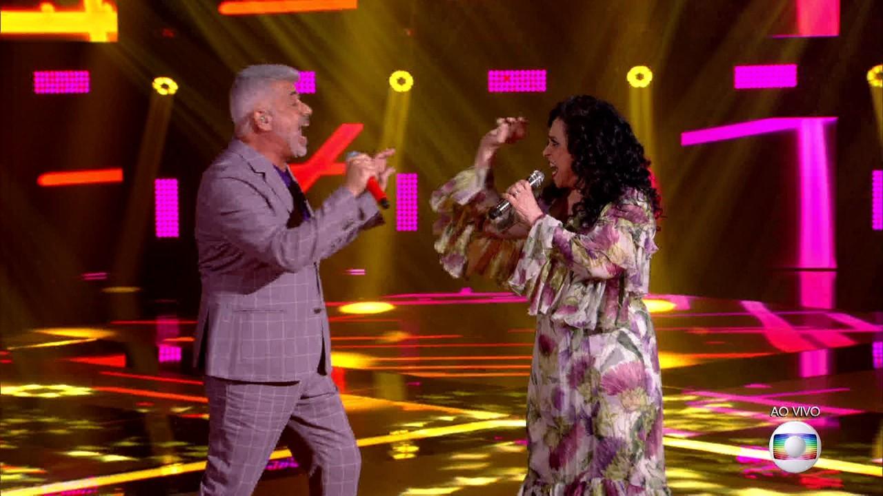 """Lulu Santos e Gal Costa cantam """"Arara"""""""