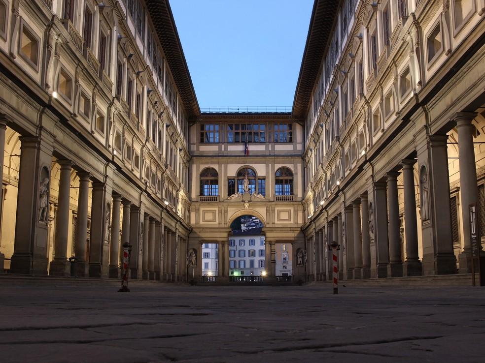 Um visitante da Galeria Uffizi de Florença desmaiou com a 'Medusa' de Caravaggio — Foto: Pixabay