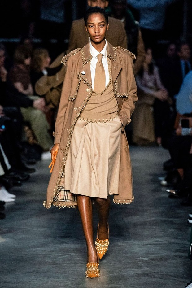 Burberry, inverno 2019 (Foto: Getty Images)