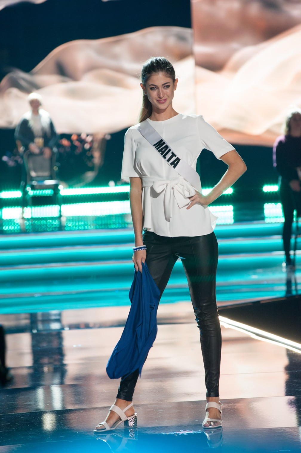 Tiffany Pisani, Miss Malta (Foto: Patrick Prather/Miss Universe Organization/AFP)
