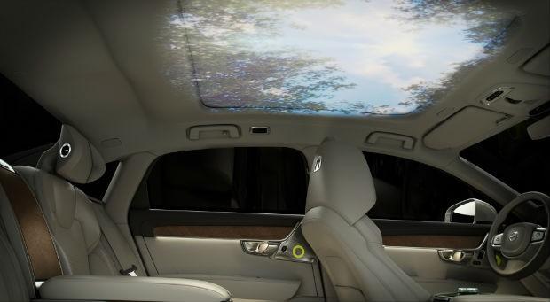Volvo S90 Ambience Concept - interior (Foto: Divulgação)
