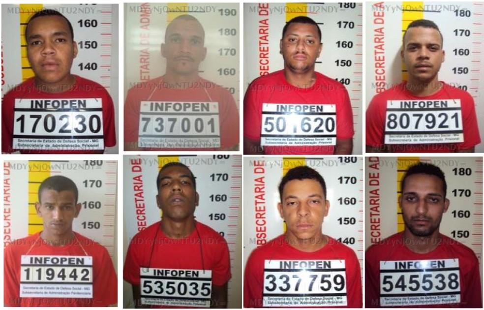 Detentos fogem de presídio no Serro — Foto: Sejusp/Divulgação