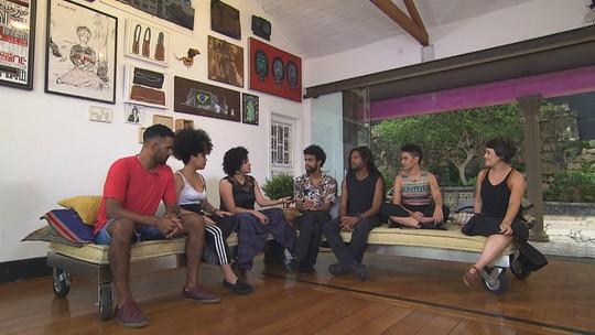 Arte Negra no Globo Horizonte