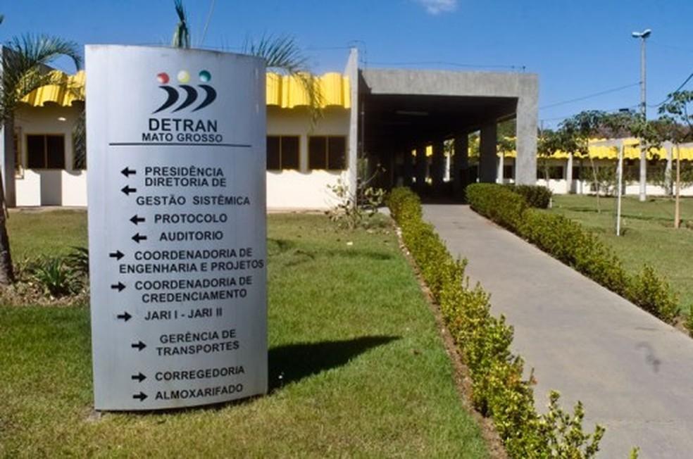 Réus desviaram cerca de R$ 30 milhões do Detran (Foto: Gcom-MT/Divulgação)