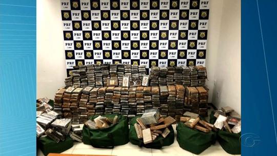 PRF apreende 1,2 tonelada de cocaína na BR-423, em Canapi, AL