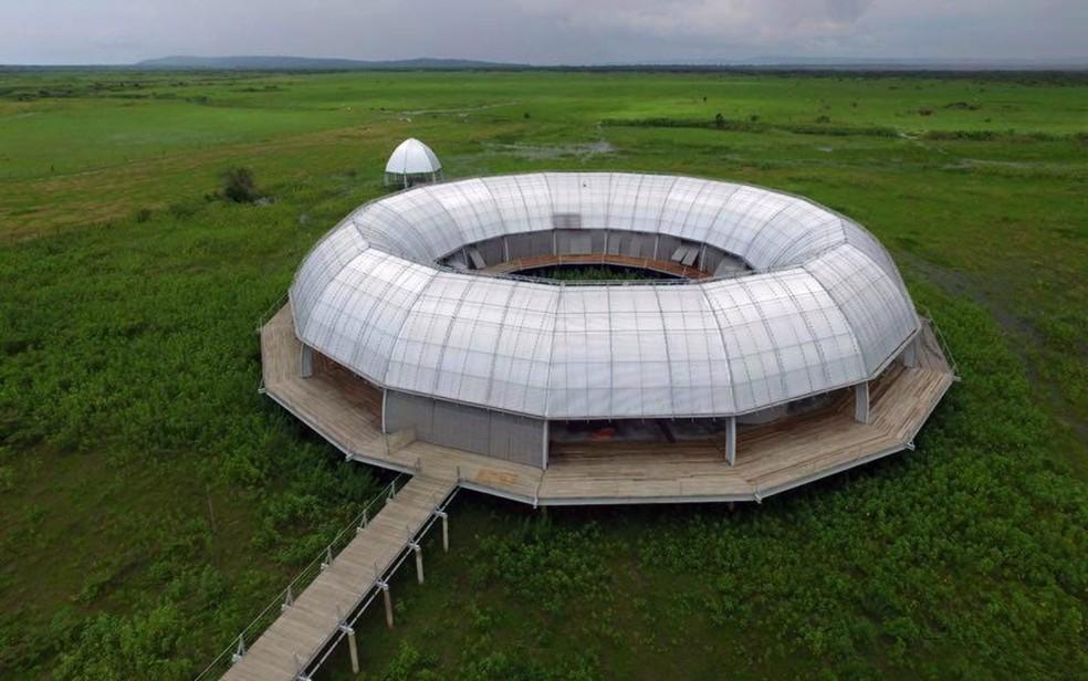 Memorial Rondon, em Mato Grosso — Foto: Aroeira Construções