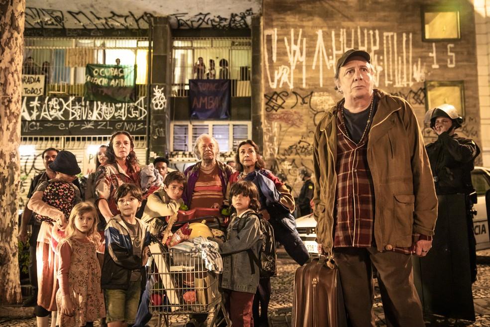 A família de Eusébio (Marco Nanini) vai agitar o Bixiga, na novela 'A Dona do Pedaço' — Foto: João Miguel Junior/Globo