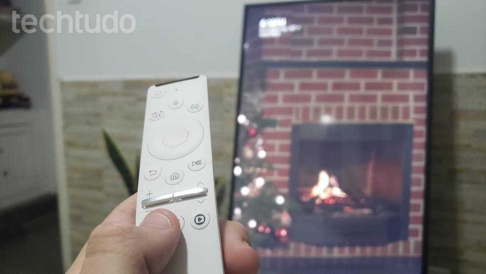 Controle da The Sero tem botões específicos para os principais serviços de streaming do mercado, entre eles o Globoplay — Foto: Yuri Hildebrand/TechTudo