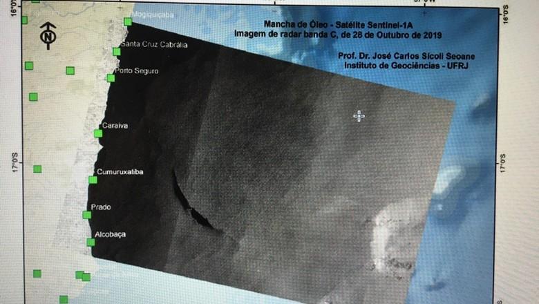 mancha-óleo-nordeste (Foto: Reprodução SEI/IBAMA )