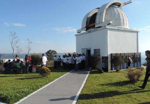 Observatório em Brasópolis do Laboratório Nacional de Astrofísica  (Foto: Laboratório Nacional de Astrofísica/Facebook)