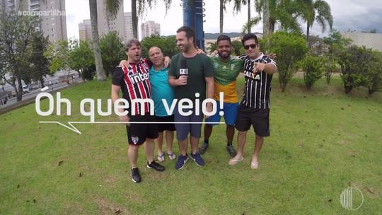 'Compartilha' convidou os Garotinhos FC para um jogão de futebol de sabão