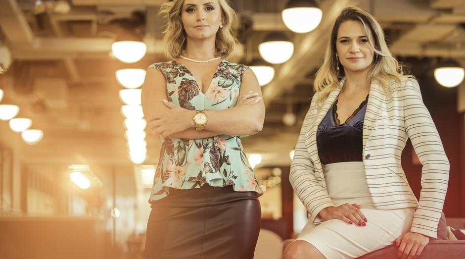 Monica Granzo e Mary Albuquerque, fundadoras da startup Smarkets (Foto: Divulgação)