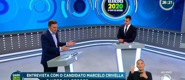 Marcelo Crivella e Tino Júnior