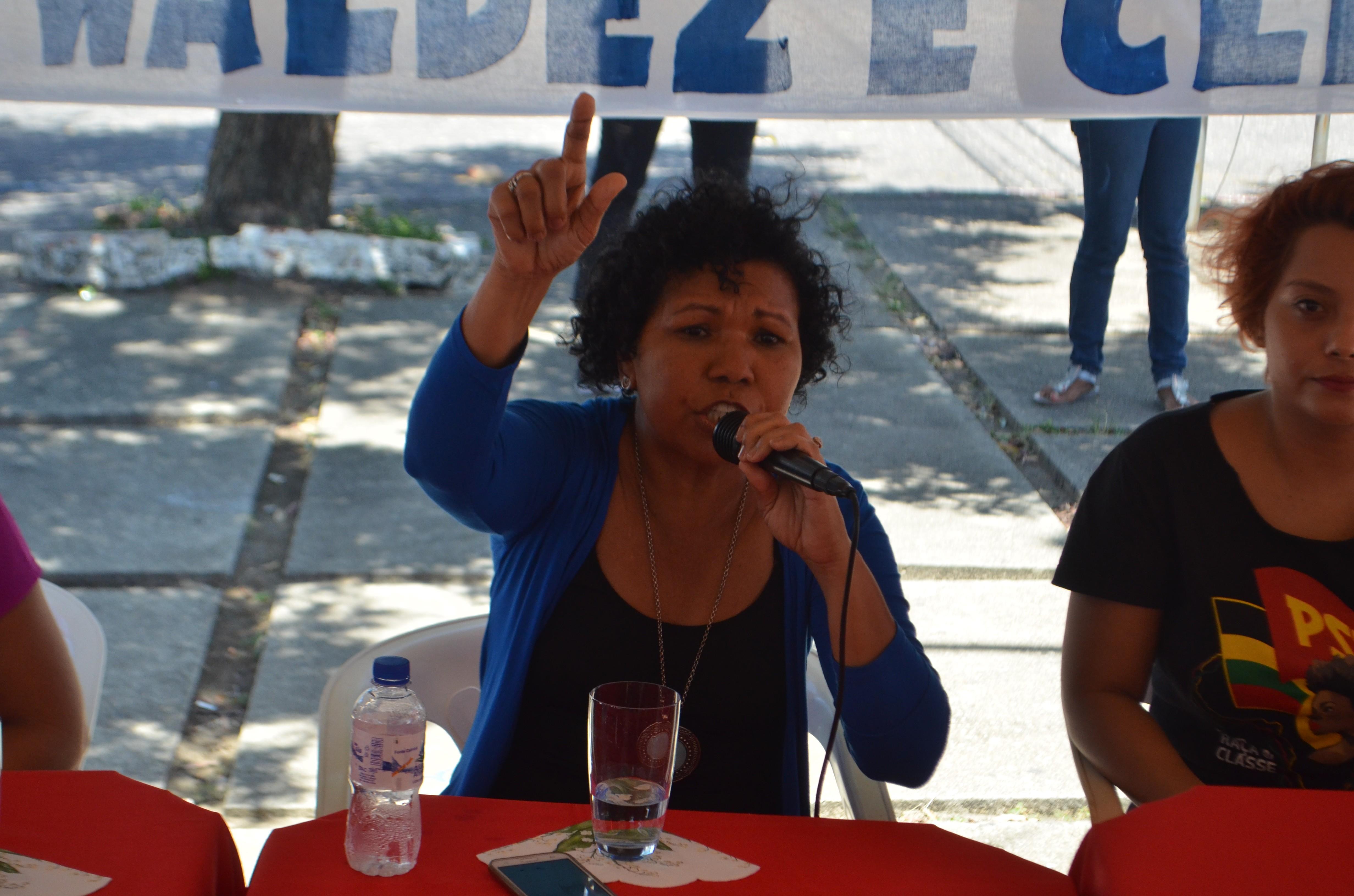 Em Macapá, Vera Lúcia defende a estatização do agronegócio e redução da importação de alimentos